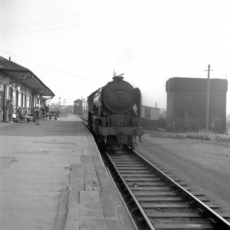 View of locomotive (A2), Thornton Junction
