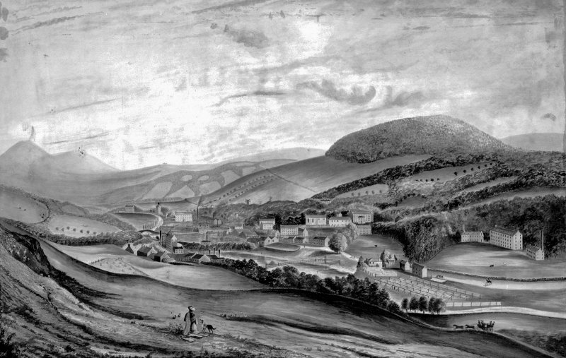 View of Galashiels.