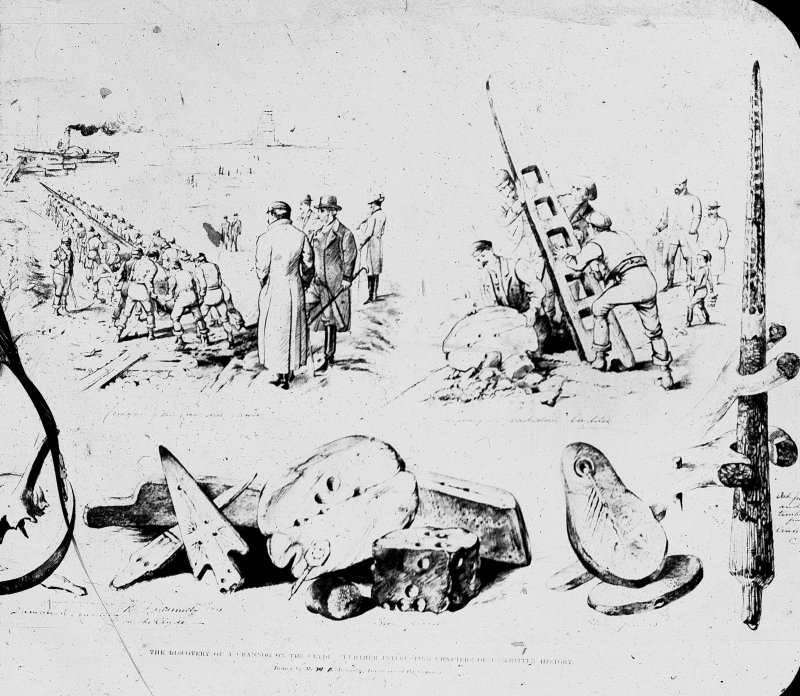 Dumbuck crannog excavation