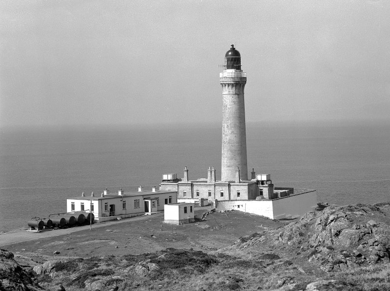 Ardnamurchan Lighthouse General view from South East