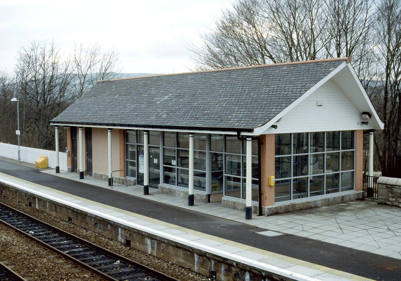 View of new Huntly Station.