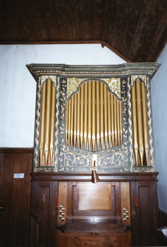 Detail of organ.