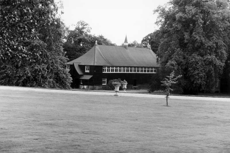 Haddo House Theatre, general view from NW.