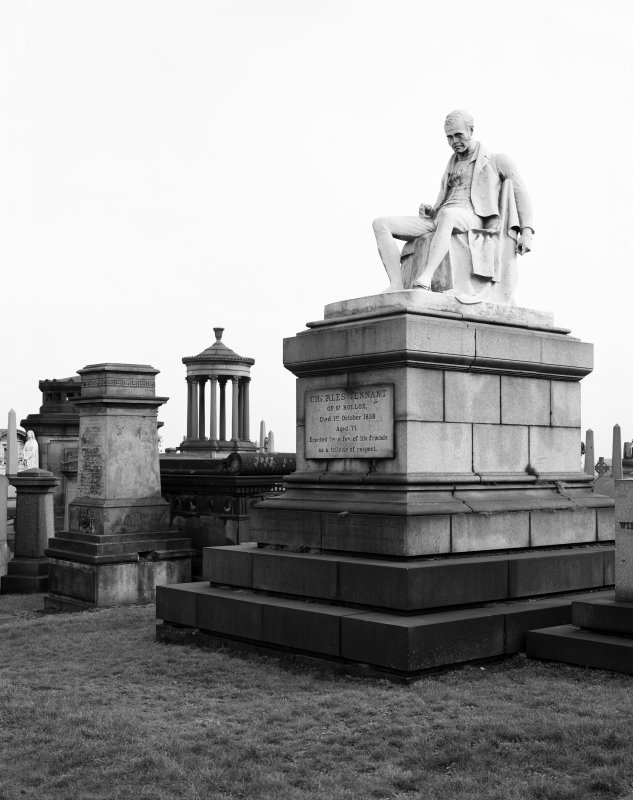 Glasgow Necropolis, Charles Tennant's tomb General view.