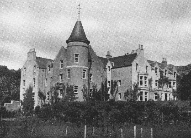 Kingairloch House. General view.