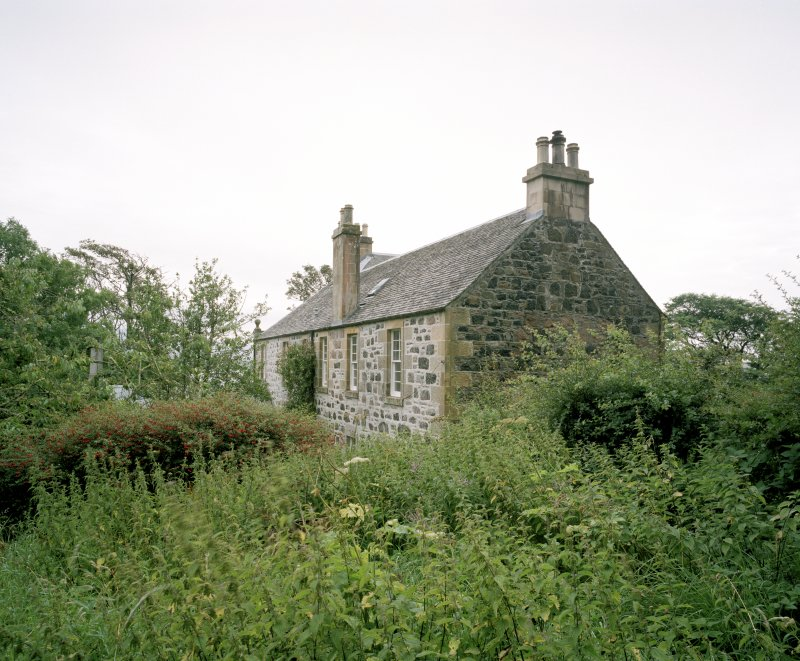 View from NE of Canna House.