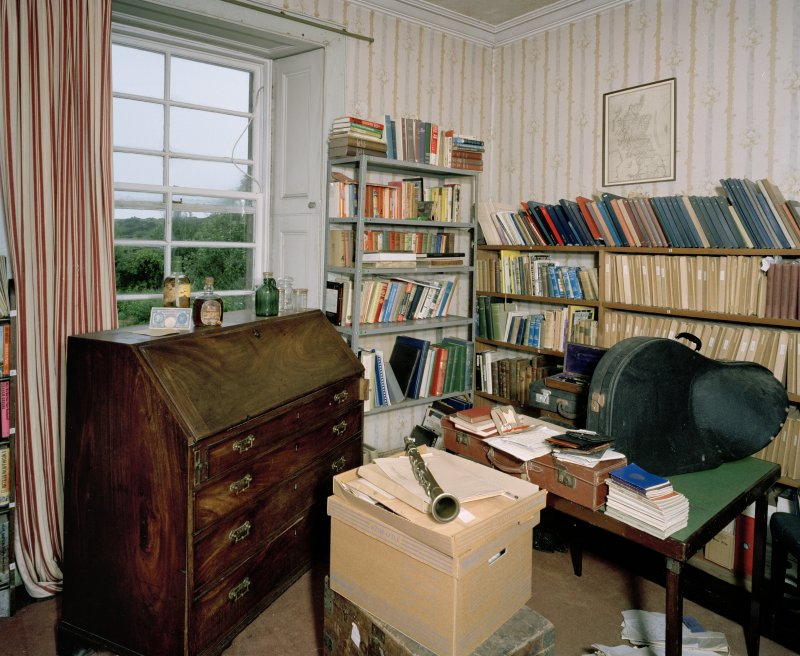 Interior. First Floor. Mr Campbell's Dressing Room. Scanned Image of E 64420 CN