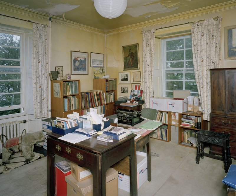 Interior. First Floor. Mrs Campbell's Sitting Room. Scanned Image of E 64436 CN