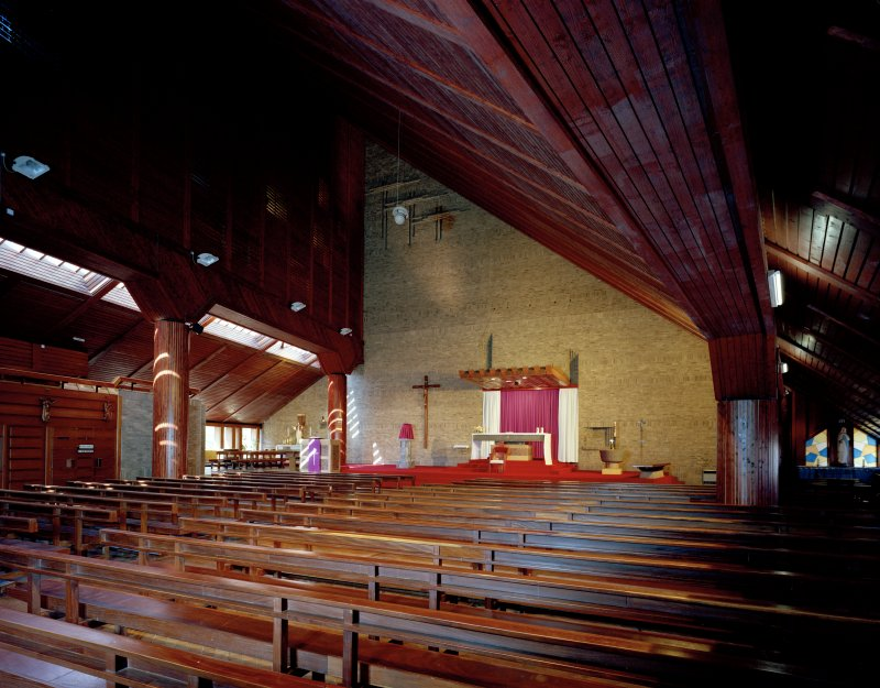 Glasgow, Craigpark, Our Lady of Good Counsel, interior. General view from South-East.
