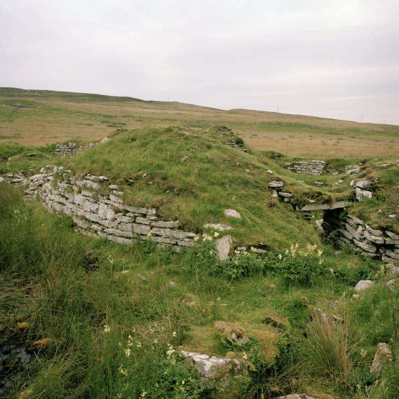 View of broch from ESE