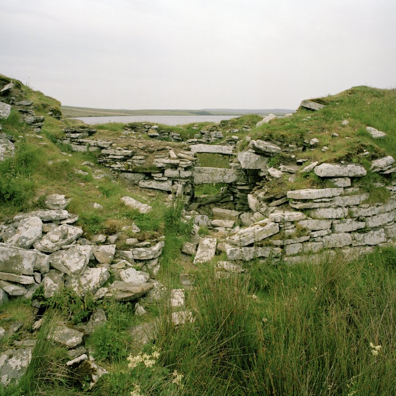 View of broch from S