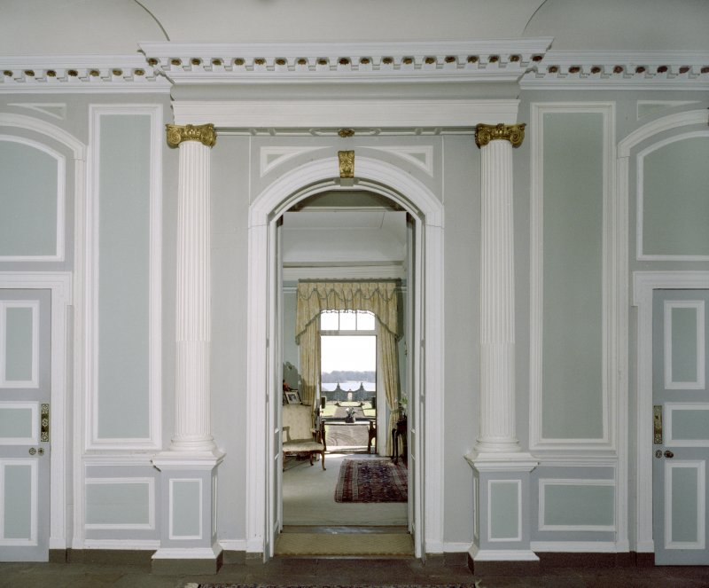 Interior. View from entrance hall