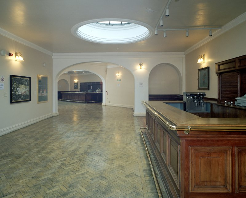 Interior. 2nd floor. view showing bar areas