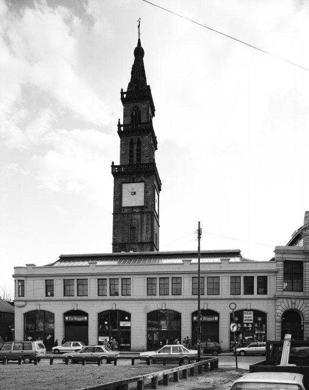 46 - 76 Clyde Street, The Old Fishmarket General view of Fishmarket and Merchant's Steeple from North West
