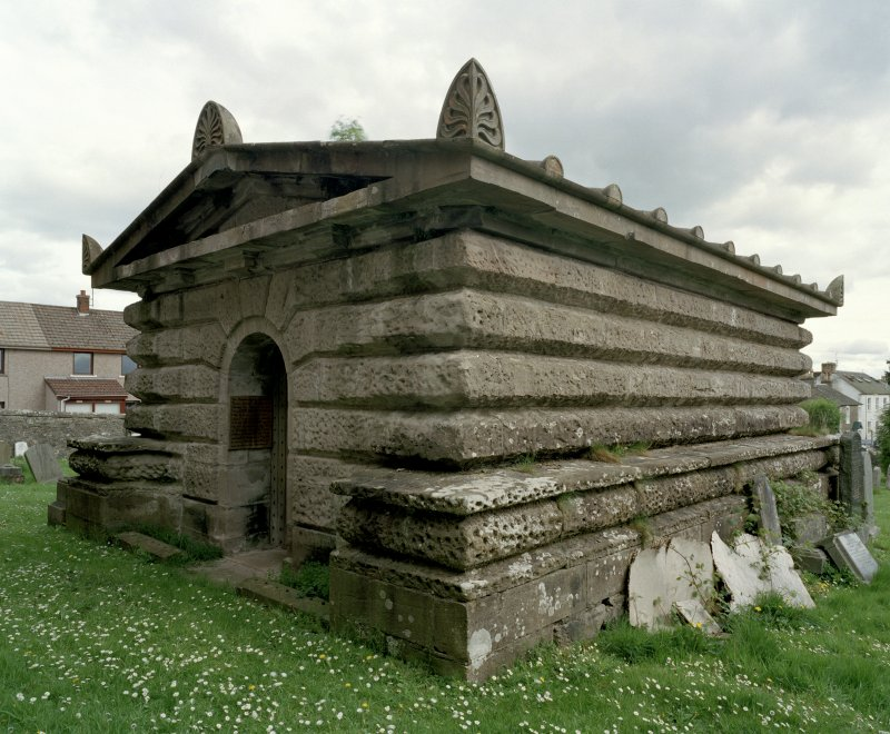 View of Mausoleum from NW showing portal
