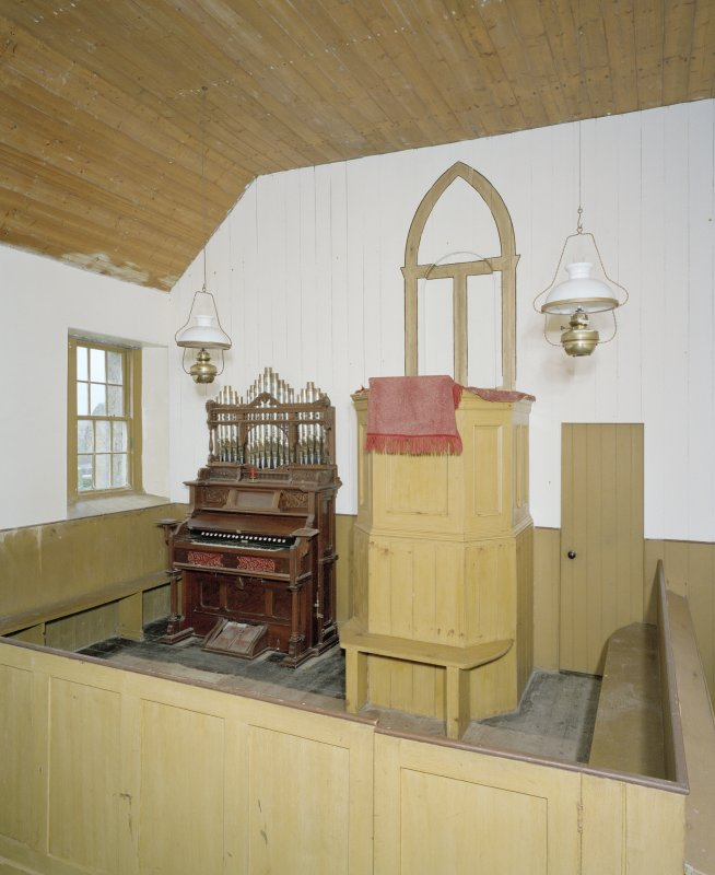 Interior. View of pulpit
