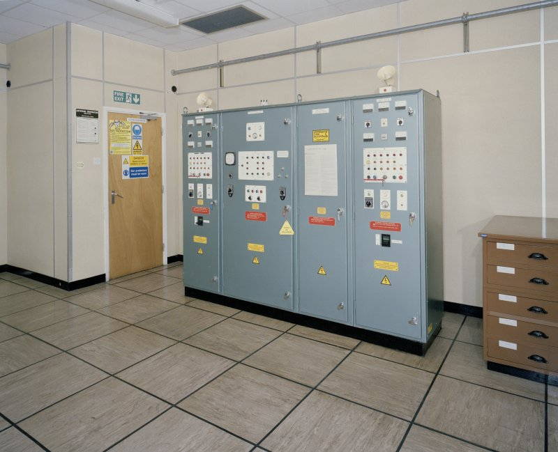 Interior. View showing secondary electrical switch panel.