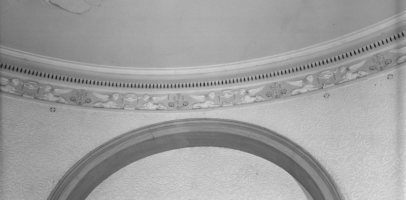 Interior. Detail of frieze.