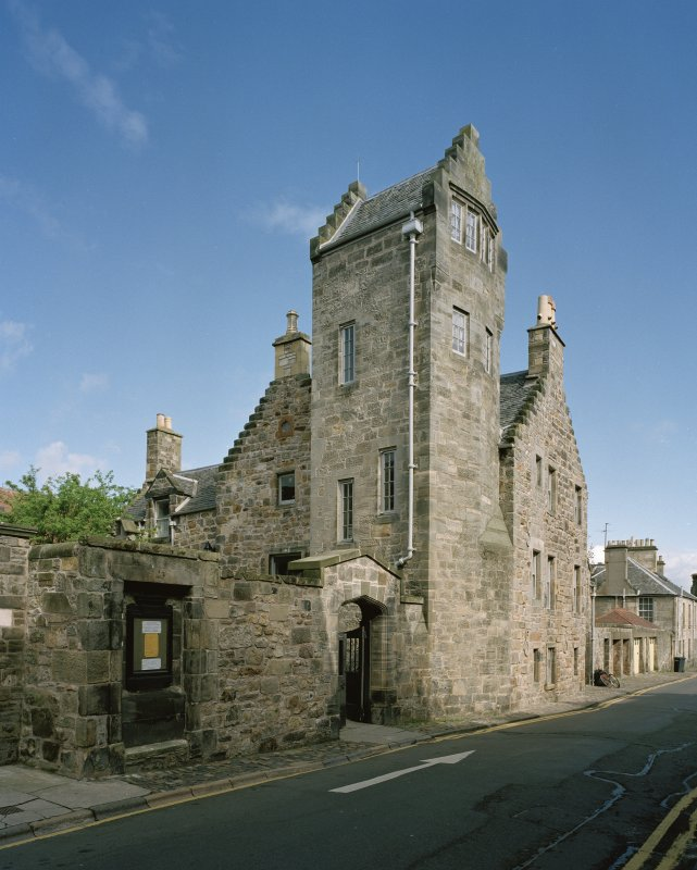 All Saints Episcopal Church,  St Andrews.  View of Castlewynd House from South East.