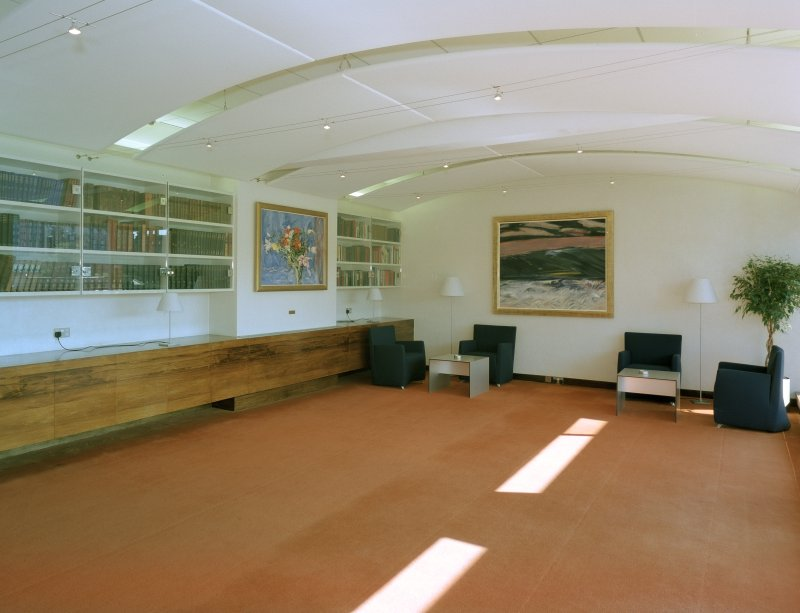 Interior, third floor, Ramsay room, view from West