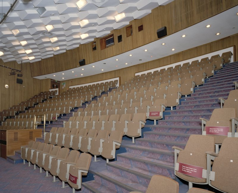 Interior. View of lecture theatre