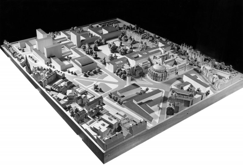 Model of proposed development for Edinburgh University.
