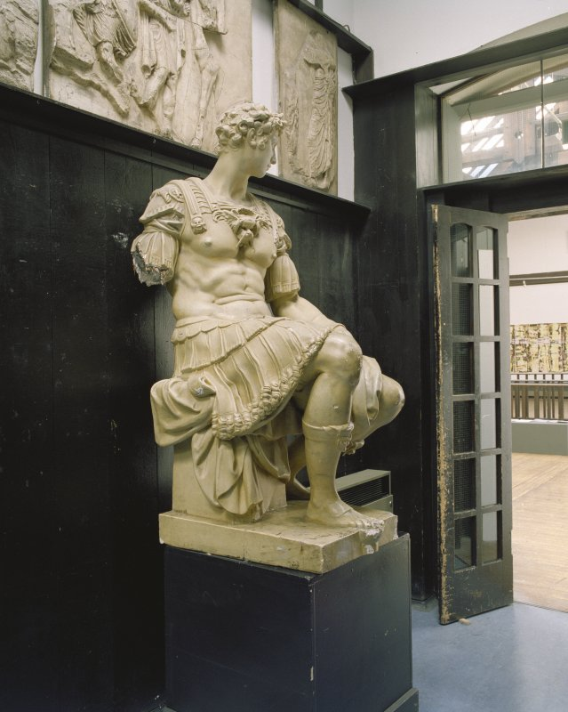 Statue in the Glasgow School of Art, first floor, E corridor,  W.