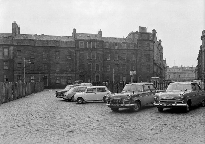 1 - 5 St James Square General view with cars