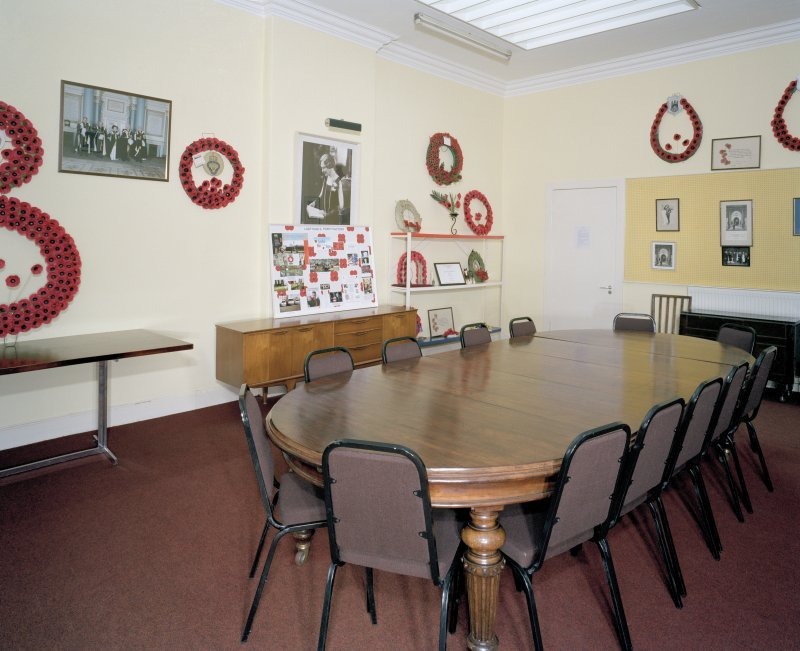 Interior. Ground floor, Lady Haig boardroom.