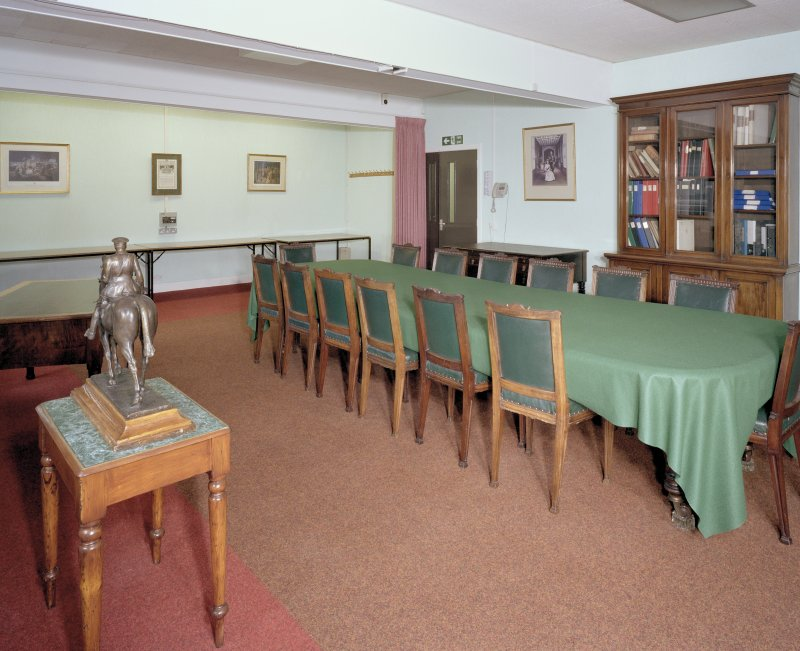 Interior. 1st floor, Poppy Scotland boardroom.