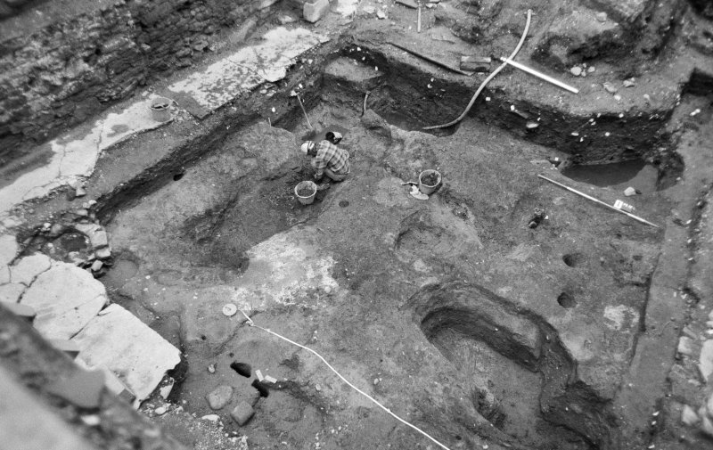 Excavation photograph: general view of site.