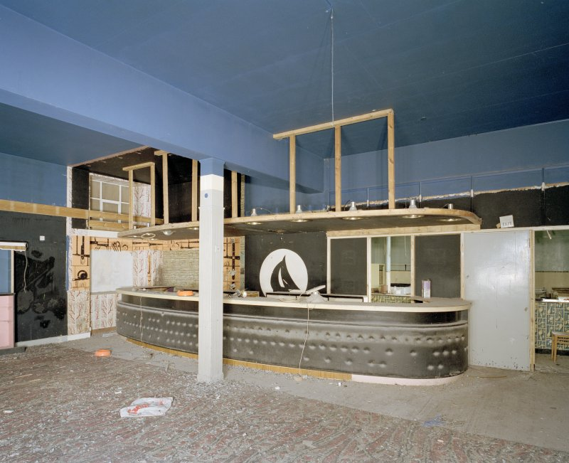 Interior.  1st floor bar and fittings.