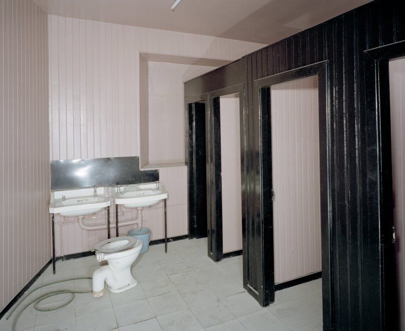 Interior. 2nd floor. Ladies toilet