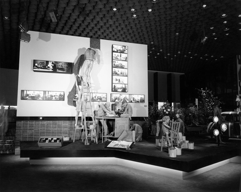 Detail of the Do-It-Yourself display in the Britain Today section of the British Pavilion at Expo 67.