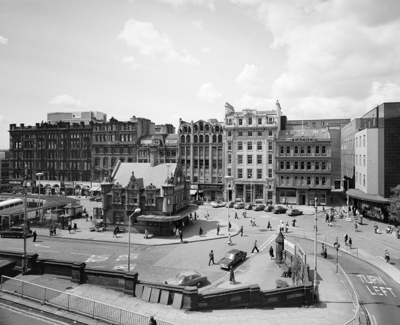 Glasgow, St Enoch Square, South side. General view.