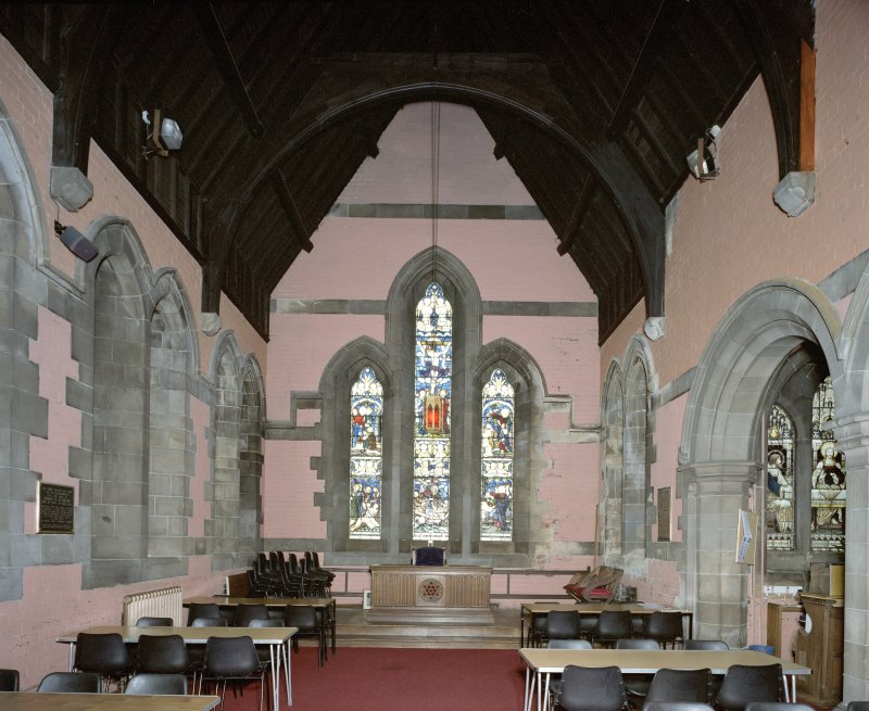 Interior. View of Steven Chapel