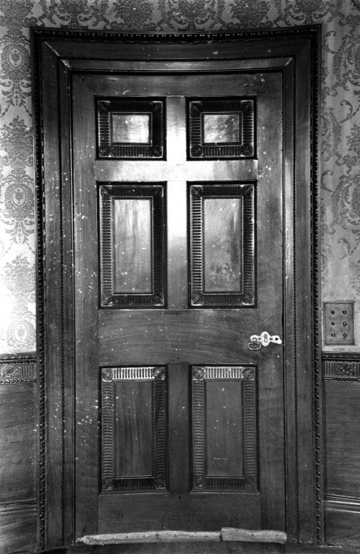 Interior. View of door.