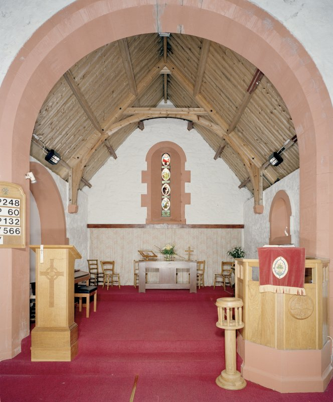 Interior. Chancel. View from W