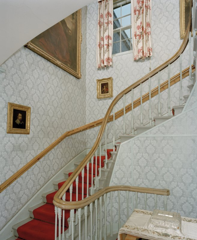 Staircase, interior view from South.