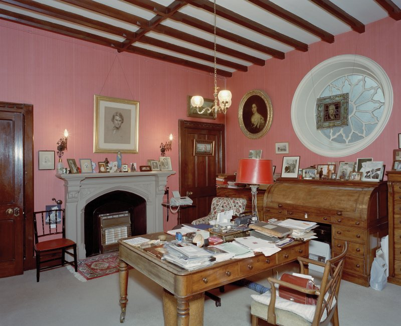 Study, interior view from East.