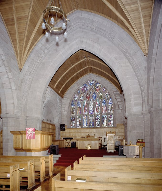 Interior. View of chancel