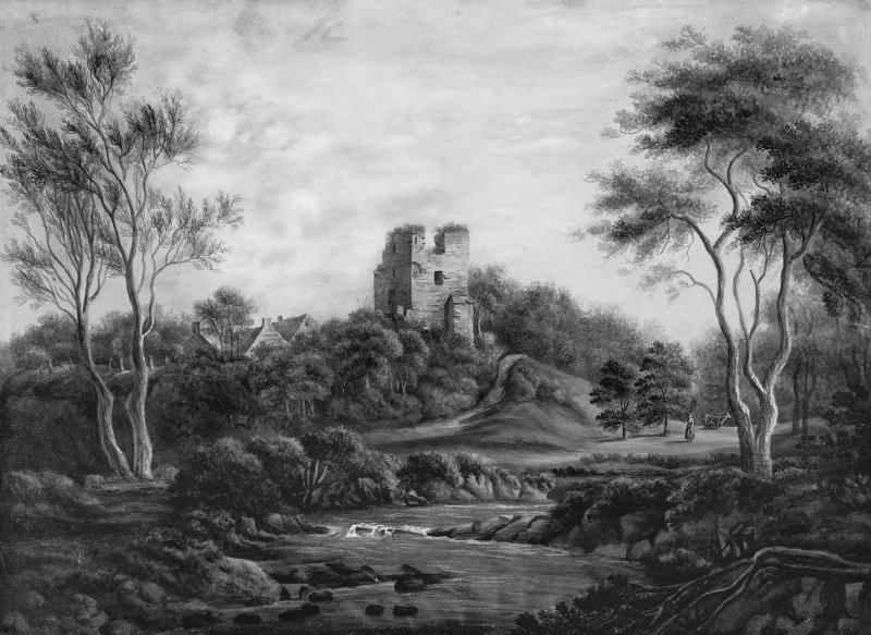Photographic copy of painting by a Miss Rattray, undated.