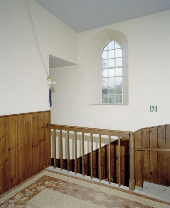 Interior. View of stair landing
