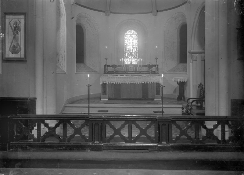Interior-general view looking towards altar