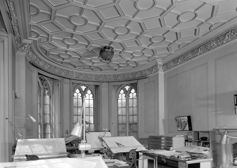 Interior view of Cambusnethan Priory showing drawing room.