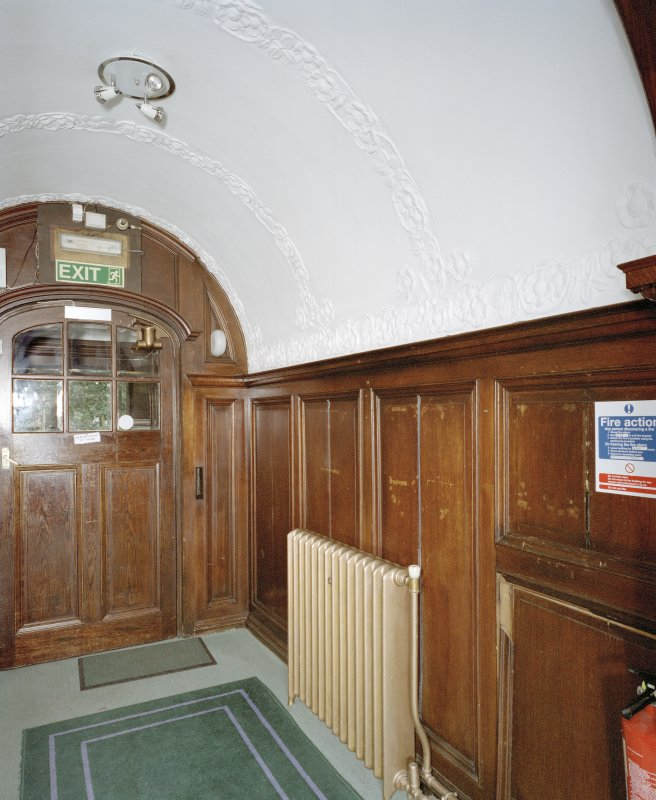 Interior. Ground floor. Entrance lobby.