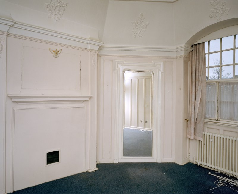 Interior. First floor. North east room.