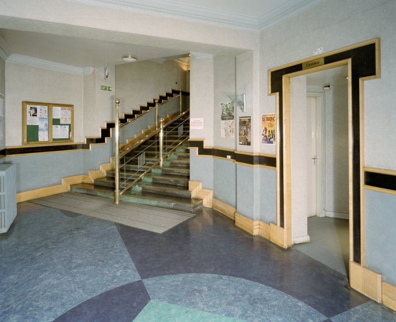 Interior. Main hall, view of halls foyer