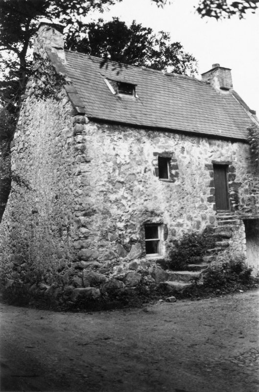 View of old house.