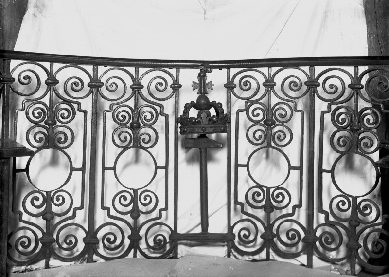 Interior-detail of ironwork. Inv. fig. 182